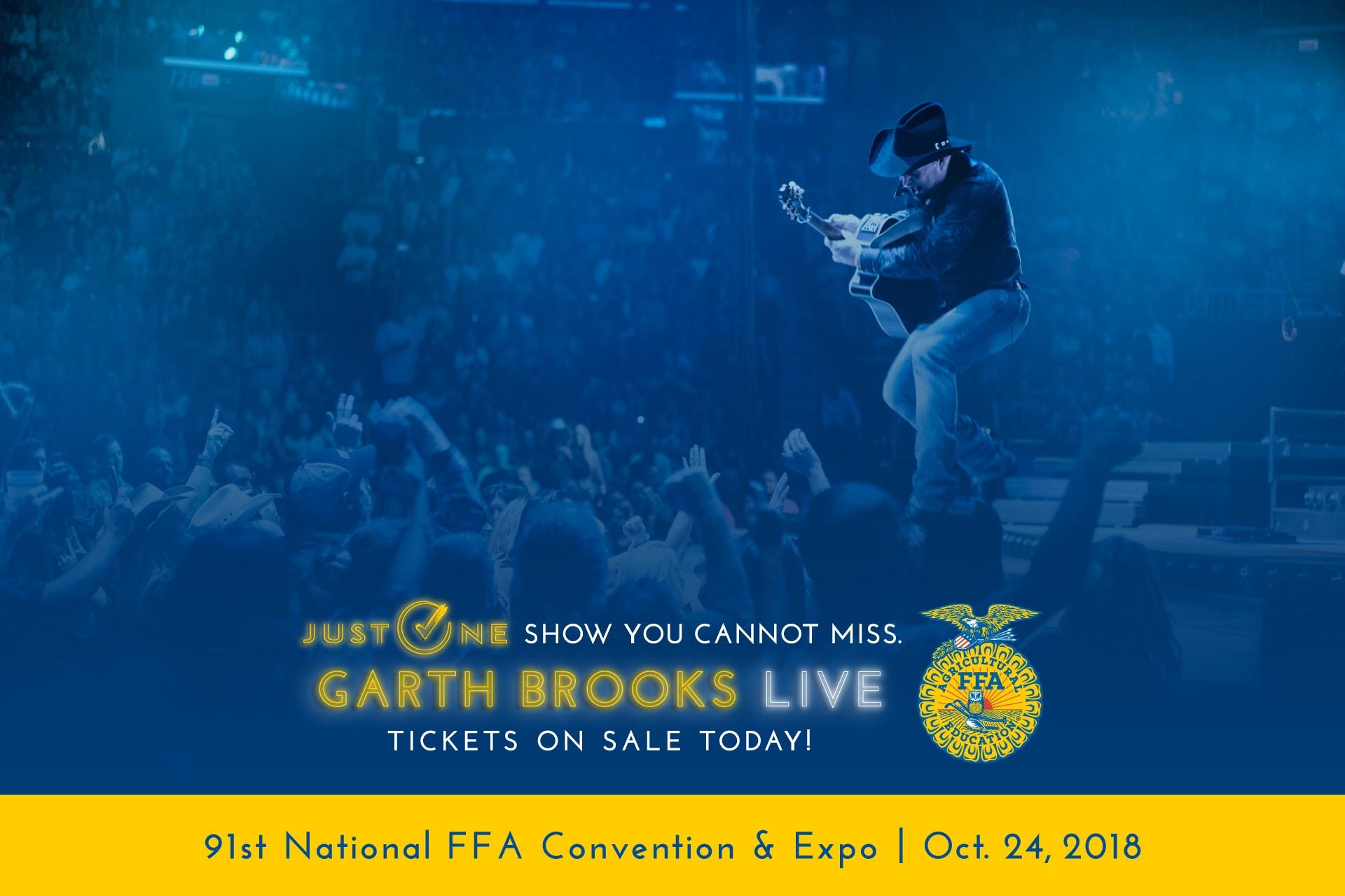 Garth Brooks: Tickets On Sale Now!