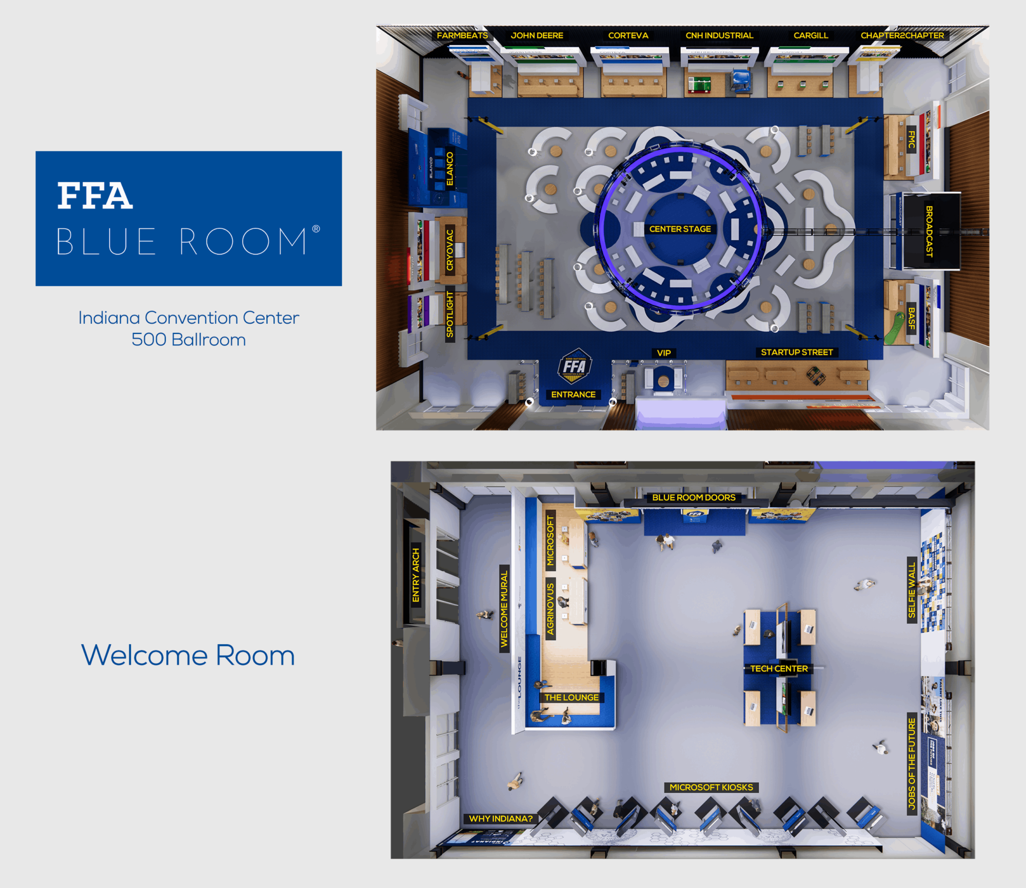 FFA Blue Room Map