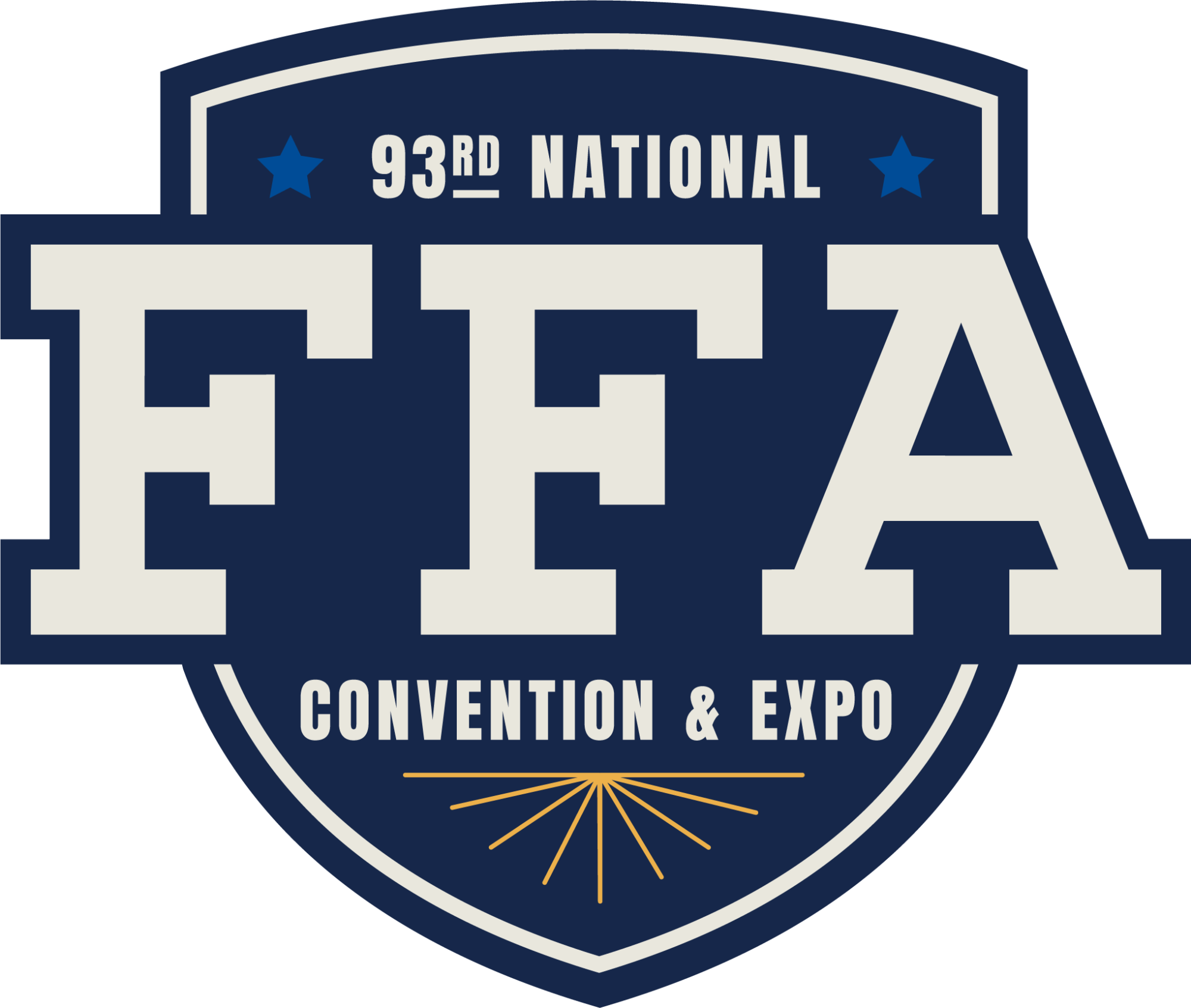 93rd National FFA Convention & Expo Logo