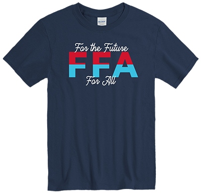 """""""The Annual FFA Tee"""" 2020-2021 (Front)"""