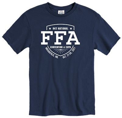 Convention Tee - Navy