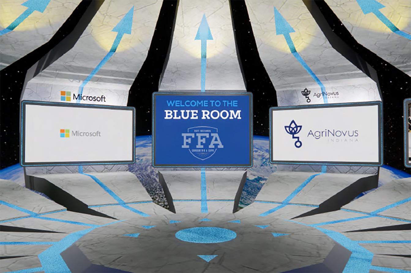 Virtual Blue Room 2021