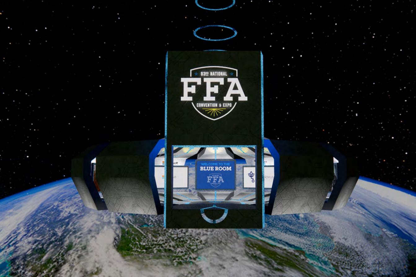 Virtual Blue Room